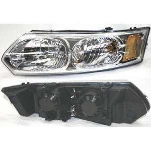 03 05 SATURN ION SEDAN HEADLIGHT LH (DRIVER SIDE), Assy, Combination