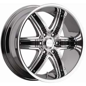 Viscera 777 20x9 Chrome Wheel / Rim 5x115 with a 10mm Offset and a 83