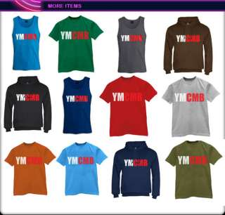 YMCMB Hoodie Money Wayne young weezy lil rap new hip hop tee cash