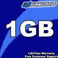 1GB PC2700 RAM APPLE iBOOK POWERBOOK APPROVED MEMORY