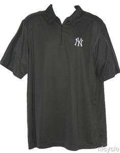 NY YANKEES MLB MAJESTIC Grey POLO SHIRT Mens 2XL NEW