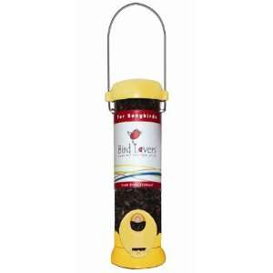Yankees   8 inch Bird Lovers Cardinal/Songbird Seed Feeder   Yellow