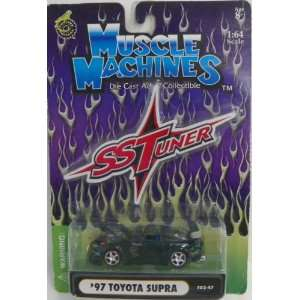 Muscle Machines 1/64 Scale Diecast Ss Tuner 1997 Toyota