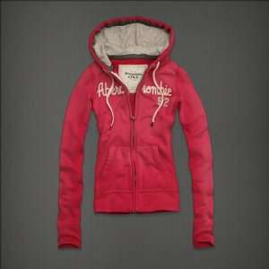 Abercrombie & Fitch Womens Hoodies Pink