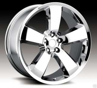 22 SRT8 300C Charger Magnum Wheels Rims Chrome