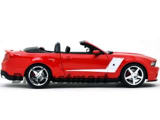 MAISTO 118 2010 FORD MUSTANG ROUSH 427R DIECAST RED
