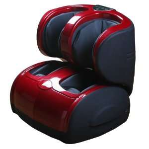 Air Pressure Leg, Foot, Ankle, and Calf Massager (Red