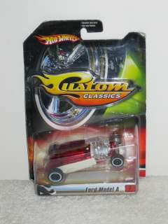 New Hot Wheels Custom Classics Die Cast Ford Model A (2006) #K7907