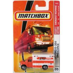 Matchbox Emergency Response Series #55 08 Ford E 350