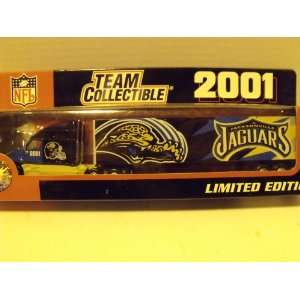 Jaguars 2001 Limited Edition 180 Scale Die cast Tractor Trailer Toys