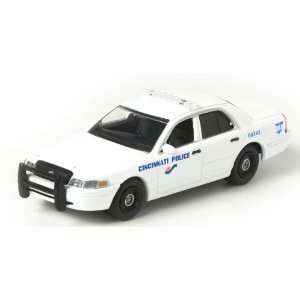 Greenlight 1/64 Cincinnati, OH Police Ford Crown Vic Toys