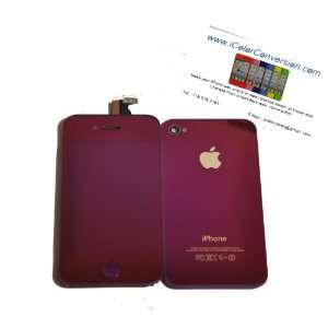 iPhone 4G Verizon/Sprint Color Conversion Kit + Tools   Mirror Purple