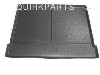 molded cargo tray slate jeep logo genuine jeep part number 82209692ab