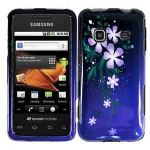 Nightly Flower Hard Case Cover for Samsung Galaxy Prevail