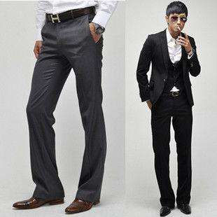 2011 Men Stylish Casual Formal Straight Pant Trouser 05