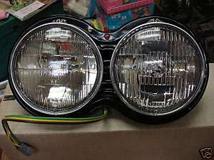 vintage guide head lamp assys big rig, kenworth truck