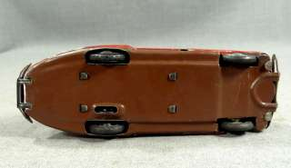CAR AUTO WIND UP TIN TOY SCHUCO #1010 MAYBACH LIMO DIVERSION
