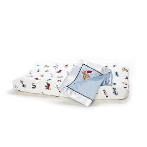 FAO Schwarz Toy Box Soft Velour Changing Pad Cover Baby