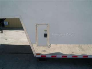 5x36 GOOSENECK ENCLOSED CARGO TRAILER AUTO CAR HAULER RACE TRAILER