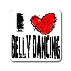 I Love Heart BELLY DANCING   Window Bumper Laptop Sticker