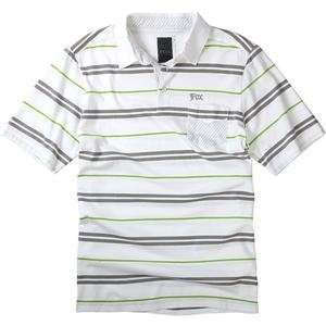 Fox Racing Mirage Polo   Medium/White Automotive