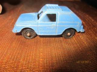 VINTAGE TOOTSIE TOY DIECAST 2 DOOR VW RABBIT #1 TOOTSIETOY USA SKY
