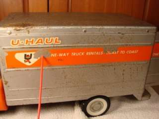 VINTAGE RARE NYLINT FORD U HAUL PRESSED STEEL TRUCK 1960S ? TOY OLD