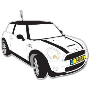 Mini Cooper S car bumper sticker decal 4 x 5 Automotive
