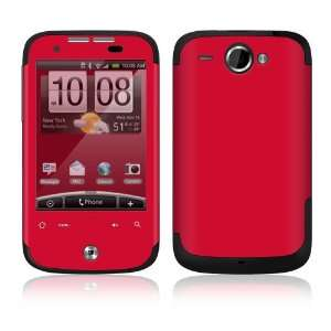 HTC WildFire Skin Decal Sticker   Simply Red Everything