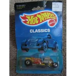 1988 Hot Wheels Classics T Bucket Yellow with Flames