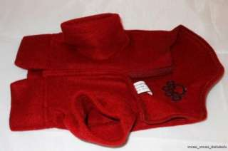 Wrap Fleece Dog Winter Coat Jacket Blanket Bow Wow Pet NEW