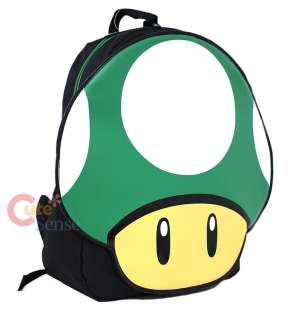 Nintendo Super Mario Green Mushroom Backpack 1 Up 2