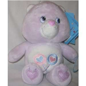 Care Bears Baby Purple Plush Bear Sings Alphabet Share Bear
