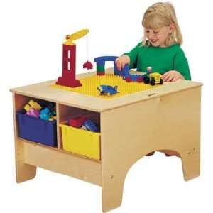 Jonti Craft KYDZ BUILDING TABLE   DUPLO COMPATIBLE With