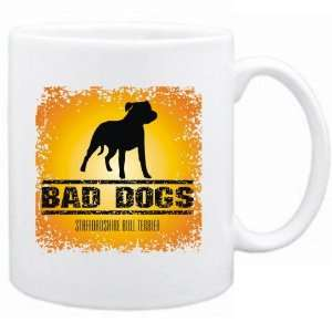 New  Bad Dogs Staffordshire Bull Terrier  Mug Dog