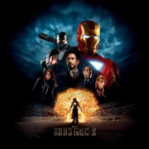 Iron Man 2 Poster 30x30 Robert Downey Jr Scarlett