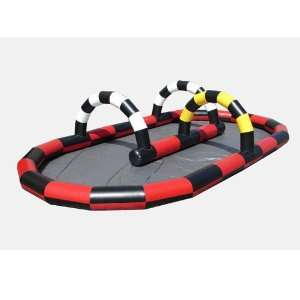Kidwise Inflatable Race Track Bounce House (Commercial