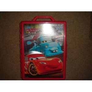 Disney Pixar Cars Toon 155 Diecast Car Carrying Case Red