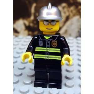 (Silver Glasses and Helmet)   LEGO City 2 Figure Toys & Games
