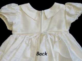 New Silk Christening Baptism Dress Gown 6M 12M 18M 24M