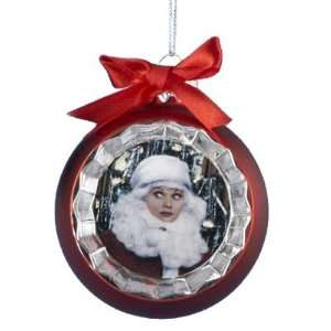 I Love Lucy Red Glass Ball Christmas Ornament