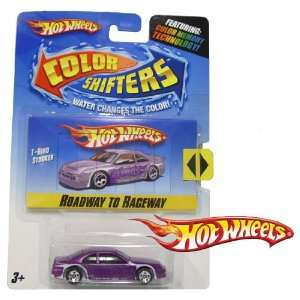 Hot Wheels Color Shifters Roadway to Raceway T Bird
