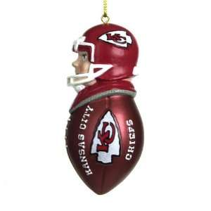 BSS   Kansas City Chiefs NFL Team Tackler Player Ornament