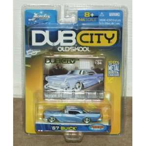Dub City Oldskool 1957 Buick 164 Scale Die Cast Metal Car