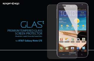 SGP AT&T Samsung Galaxy Note Screen Protector GLAS.t Tempered Glass