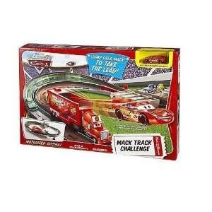 Disney Pixar Cars Rc Mack Track Challenge Racetrack Set