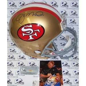 Creative Sports APROSF MONTANA Joe Montana Hand Signed San Francisco