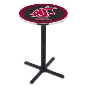 State Bar Height Pub Table   Cross Legs   NCAA