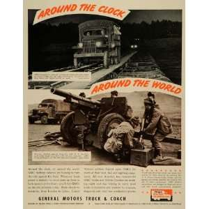 1942 Ad General Motors Truck Coach WWII War Production