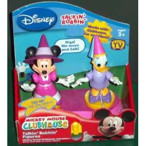 Talkin Bobbin Dress Up Minnie Mouse & Daisy Duck Toys & Games
